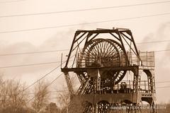 The Hesketh (Advanced Biker) Tags: history wheel museum head gear institute shaft coalmine platt whitfield ncb winstanley hesketh chatterley heapstead pitcoal