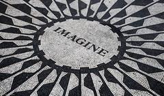 Imagine everything (Wouter de Bruijn) Tags: nyc blackandwhite bw ny newyork centralpark mosaic imagine fujifilm johnlennon strawberryfields xt1 fujinonxf35mmf14r