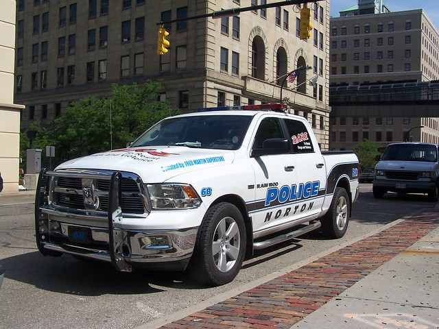 ohio unitedstates northamerica summitcounty policetruck dodgeram1500 akronohio nortonpolicedepartment