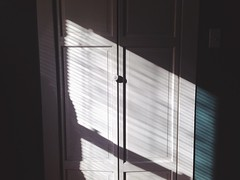 Slanted light on closet door (AnthonyTulliani) Tags: iphone vsco iphoneography vscocam