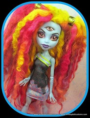 Wig- Pigtail explosion (Fantasy Dolls by Donna Anne) Tags: blue monster for high wolf doll long dolls venus jane ooak grant cam abby steam frankie wishes gigi hood after wigs create spectra custom cleo 13 ever stein wisp denile rochelle cherise screams operetta repaint catrine goyle lagoona repainted faceup scarah repaints purrsephone yelps robecca ghoulia howleen clawdeen werecats demew draculaura bominable vondergeist toralie meowlody mcflytrap jinafire boolittle