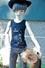 Boy and dog 2 (Xiaoli2004) Tags: bjd yujin dollstown merrymegdoll