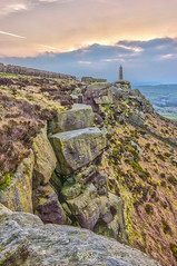 Cowling (Mariusz Talarek) Tags: uk greatbritain sunset england slr nature trekking walking landscape outdoors photography countryside amazing nikon unitedkingdom outdoor hiking walk yorkshire lamb dslr hdr northyorkshire pennines hdri rambling naturephotogra