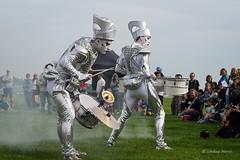 Spark! World Beaters (Lindsey_H) Tags: sparkworldbeaters upintheairbaiter insideoutdorset drummers drumming poole dorset