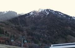 Sunset of a great Day (Stones-59) Tags: ski snowbasin utah skiruns sun sunset tree lifts lift skilift gondola pines oak fall 2016 kylesecretan olympics