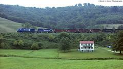 CR6129_RogersvilleMGA_0992-2 (mswphoto44) Tags: train railroad locomotive mga conrail coal hopper