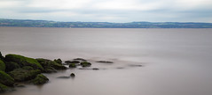 Beware submerged objects (cathbooton) Tags: 10stopfilter hightide caldy wirral riverdee hills wales submerged rocks canonusers canon6d canoneos tripod longexposure bigstopper leefilters
