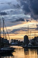 Old port (clara filippelli) Tags: clara clarafilippelli genova liguria mare tramonto italia nikon