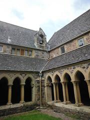 Iona Abbey 7 (StaircaseInTheDark) Tags: scotland iona isleofiona ionaisle britain greatbritain uk unitedkingdom church abbey ionaabbey historic