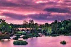 SALAMANCA, PUENTE ROMANO (juapero) Tags: paisaje landscape salamanca sunset sky juapero colours