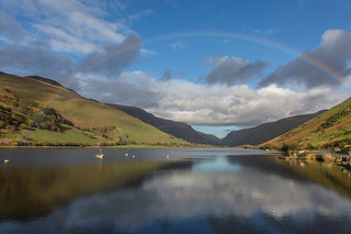 Rainbow over Talyllyn Lake (Explore)