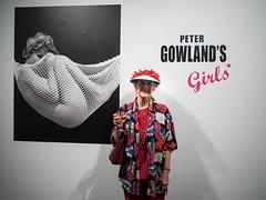 "Exhibition ""Peter Gowland's Girls""  in Mannheim (gunnar_fuchs) Tags: annmacmillan ausstellung mannheim petergowland vernissage exhibition zehpyr art photography fotografie pinup"