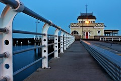 #29 / 100x - St Kilda Pier [EXPLORED] (DaveFlker) Tags: st kilda pier blue hour