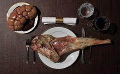 Protein (mark spag) Tags: lamb liver intestine creepy disturbing disorder order dinner recipe fancy halloween raw carnivore carnivorous meat