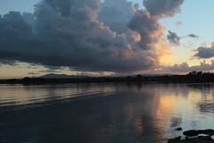 Intorno a me ...:) (Betti52) Tags: tramonto nubi riflessi castiglion del lago umbria italia