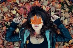 (madisonrogers) Tags: leaves fall leaf chillin