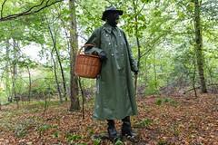 5DA07433_Gummimantel_gruen_kl (helani44) Tags: gummimantel gummistielel outdoor gummicape gummhandschuhe regenmantel gummihut regenhut