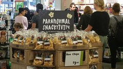 Paranormal Snacktivity (danieljsf) Tags: wholefoods boochips paranormalactivity paranormalsnacktivity chips grocery halloween supermarket pun playonwords
