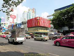 Dragon Seafood Restaurant in Ratchadamri road in 2013, Pathumwan District, Bangkok, Thailand. (samurai2565) Tags: pathumwan hualamphongrailwaystation bangkok thailand railwaysinthailand bangkokrailwaystation erawanshrine chitlom rama1road skytrain policehospital phloenchitroad lumphinipark