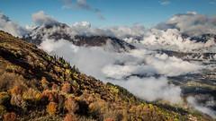 2016-10-26-IMGL2053 (Cdric BRUN) Tags: automne fall mountain montagnes haute savoie france alpes alps clouds nuages lumire light beautiful magnifique mont saxonnex landscape paysage