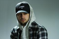 IMG_0814 (sabrinafvholder) Tags: man male hat hipster studio portrait young givenchy sabrinavazholder