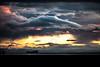 Cloud (michaelinvan) Tags: sunset sky cloudgalore birdsinflight ship boat water river reflection dark backlit wind silhouette canon5d2 mark2 135mm f2 primelens autumn fall frasierriver richmond westdyke trail mountain