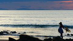 Belly on the Beach (veronix1) Tags: femme femmeenceinte pregnancy gravida ocan ocean atlantic bidart paysbasque france aquitaine soir crpuscule