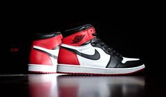 """Air Jordan 1 OG """"Black Toe"""" (Psylas) Tags: airjordan nike blacktoe og"""