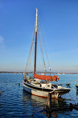 Mersea Island - Old sailing boat (Baz Richardson (catching up again!)) Tags: maryofcolchestersailingsmack essex merseaisland westmersea coast sailingboats fishingsmacks victoriansailingboats