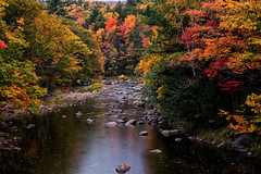 autum - White Mountains - New Hampshire - 10-14-15  03 (Tucapel) Tags: newhampshire whitemountains autumn autumnleaves trees water outdoors