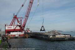 Pier 96 11-2016 (daver6sf@yahoo.com) Tags: pier96 baybridge debris p96 portofsanfrancisco