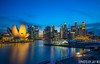 singapore cityscape (jaywu429) Tags: sony singapore sonya7r sky skyline sonycamera singaporeriver sony1635mmf4 cityscape landscape marinabay longexposure explore buildings bluehour asia downtown beautiful