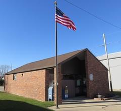 Post Office 51052 (Salix, Iowa) (courthouselover) Tags: iowa ia postoffices woodburycounty salix loesshillsregion