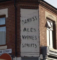 Banks's Ales Wines Spirits (lcfcian1) Tags: bankss ales wines spirits bankssaleswinesspirits bankssales belgrave ghost sign old ghostsign leicester leicestershire leicestercitycentre