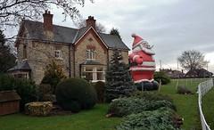 Santa (Eddie Crutchley) Tags: europe england cheshire trees outdoor santa simplysuperb