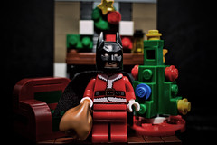 (Silverio Photography) Tags: lego batman santa minifig christmas toy canon 60d photoshop elements 24mm pancake hdr holiday