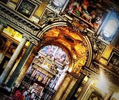 Santa Mara (paolahiguera) Tags: cathedrals iphone iphoneography art colors religious religion beautiful church santamariamaggiore roma rome italia italy europe europa