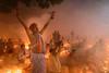 রাখের উপবাস বা কার্তিক ব্রত, বারদী লোকনাথ আশ্রম, সোনারগাঁও ২০১৬।