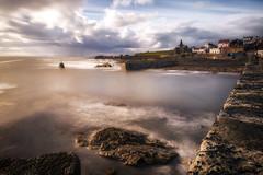 St Monans (Steven Dijkshoorn) Tags: landscape landschap schotland scotland sea water long exposure land stones kust st monans