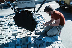 Death Star trench (Tom Simpson) Tags: starwars vintage behindthescenes deathstar trench movie film 1980s 1970s