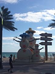 IMG_5790 (bestmilan) Tags: bestmilan photo fortlauderdale florida december 2016 beach snowmen snowman