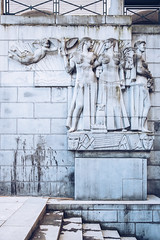 Deco Arts. (tanjatiziana) Tags: belgium brussels bruxelles relief artdeco stone sculpture