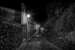 Asolo street (scapin.diego) Tags: asolo veneto italy blackandwhite night nightphotography city nikon nikond7100 tokina tokina1116