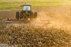 Dust (Nathan Jurgensen) Tags: johndeere kansas fall agriculture harvest corn farming rurallife canon7d