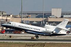 Dassault Falcon 7X CS-DTD Masterjet (EI-DTG) Tags: planespotting aircraftspotting malaga malagaairport agp spain 19nov2016 csdtd dassaultfalcon falcon masterjet trijet bizjet