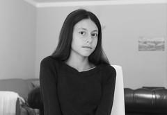 adolescent pose (Melchiorre Gioia) Tags: portrait ritratto blackandwhite viso faccia persone people pose model