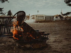 Baltica 2016 (tinto) Tags: balticsea baltica2016 dars em10 m43 mft microfourthird olympus omd ostsee prerow tintography vsco vscofilm campfire fire flames beach blur dof red sea camp camping