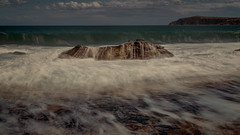 Three Part Movement of an Ocean Symphony_ (BlueberryAsh) Tags: 2016 cccpitrip phillpisland ocean seascape water waves rocks beach outdoor nikond750 nikon24120