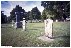 In 1854 (DelioTO) Tags: autaut canada cemetery colours f175 fall historical landscape october ontario pinhole portra rural