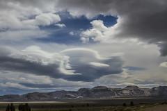 Mono Lake clouds